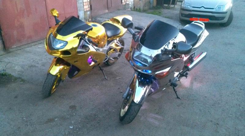Хромирование мотоциклов