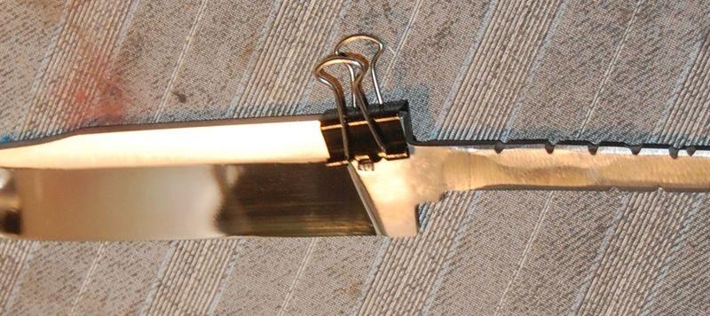 Хромирование ножей