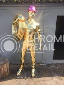 Хромирование металлических манекенов-2