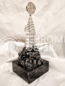 Хромирование металлических статуэток