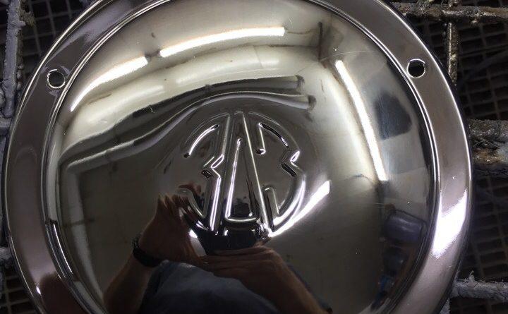 Хромирование деталей автомобиля - накладки на колеса Запорожца