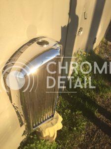 Хромирование деталей автомобиля - решетка( накладка) радиатора