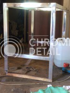 Хромирование металлической конструкции