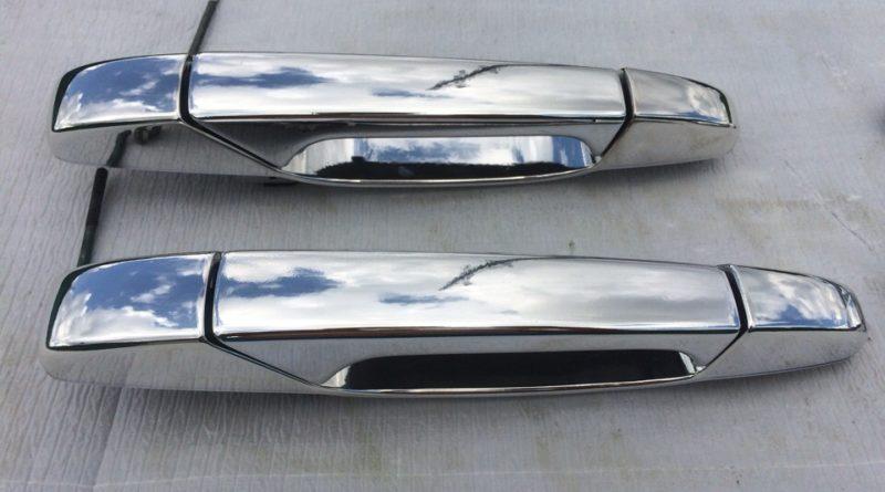 Хромирование деталей автомобиля - ручки