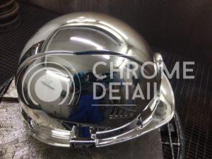 Хромирование металлической каски-5