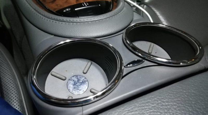 Хромирование деталей автомобиля - подстаканники в салон