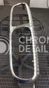 Хромирование деталей автомобиля - решетка радиатора