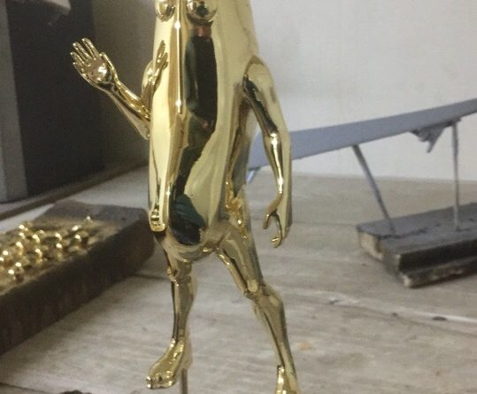 Хромирование металлических фигурок