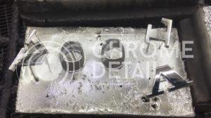 Хромирование логотипа марки автомобиля VOLVO