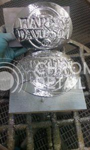 Хромирование деталей мотоцикла Harley-Davidson