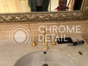 Хромирование аксессуаров для ванной комнаты
