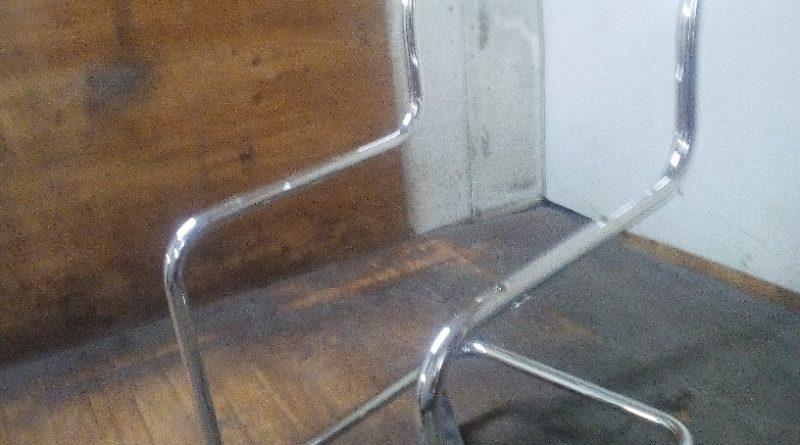 Хромирование мебели - основание для стула 2