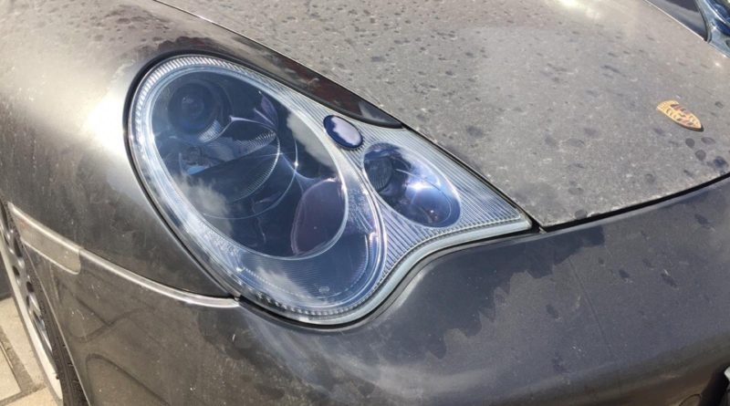 Хромирование деталей автомобиля - фара Порше